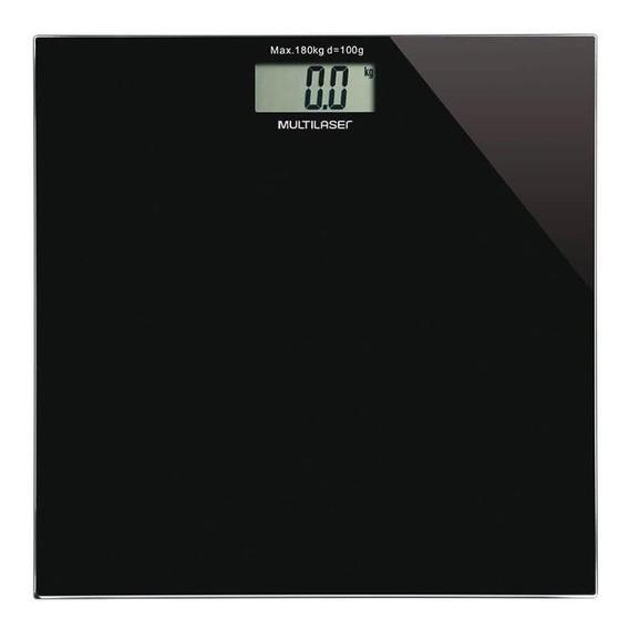 Balança corporal digital Multilaser HC022 preta