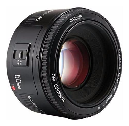 Imagem 1 de 5 de Lente Fixa Yongnuo Yn 50mm F 1.8 Para Canon Pronta Entrega