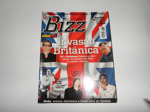 Revista Bizz Invasão Britanica - U2, Radiohead, Oasis, Moby