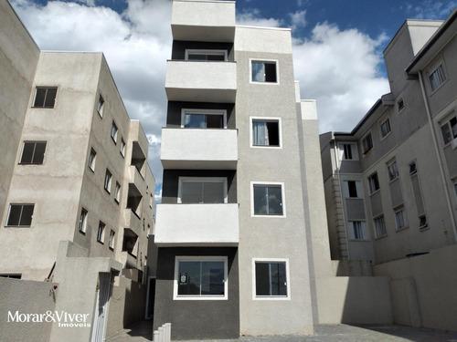 Imagem 1 de 15 de Apartamento Para Venda Em São José Dos Pinhais, Cidade Jardim, 2 Dormitórios, 1 Banheiro, 1 Vaga - Sjp7155_1-1756248