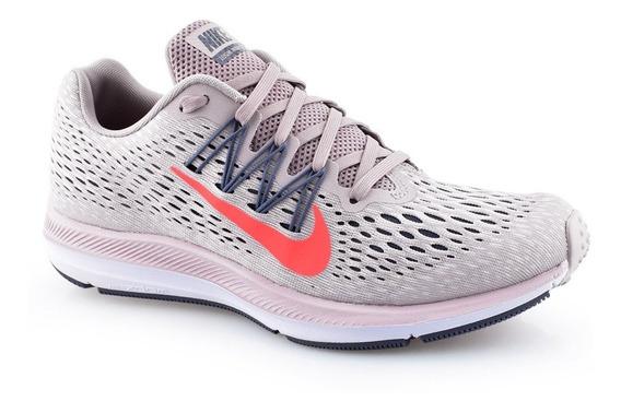 Tênis Nike Wmns Zoom Winflo 5 Feminino Aa7414-600 Original