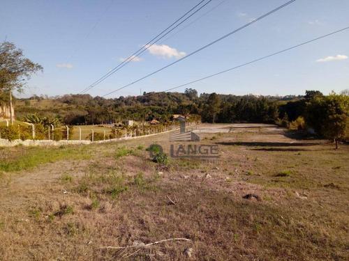 Área À Venda, 12700 M² Por R$ 1.590.000,00 - Ponte Nova - Itatiba/sp - Ar0306