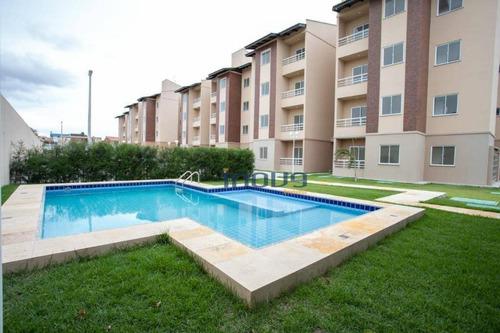 Imagem 1 de 28 de Apartamento Com 3 Dormitórios À Venda, 58 M² Por R$ 250.000,00 - Parangaba - Fortaleza/ce - Ap0176