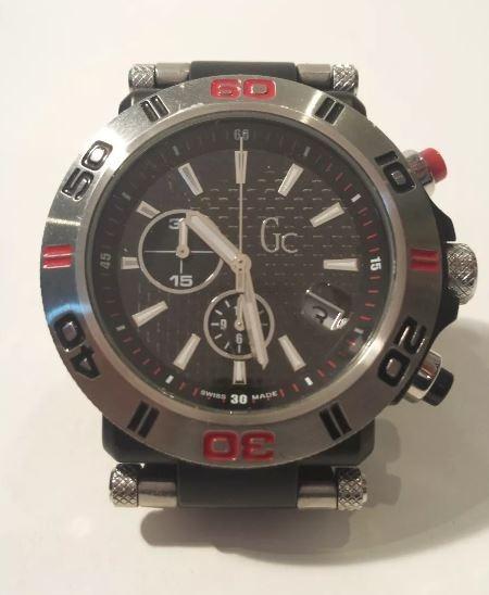 Relógio Gc Guess Collection Swiss Quarzo Crono