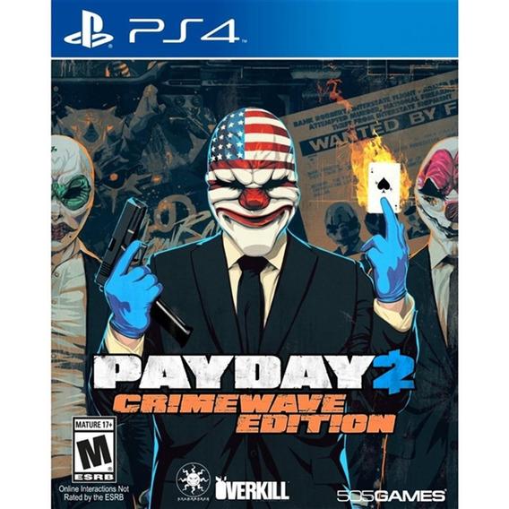 Payday 2: Crimewave Edition - Ps4 Lacrado
