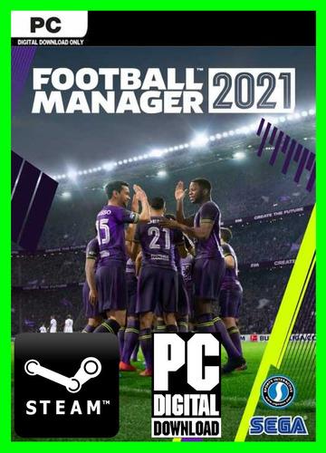 Football Manager 2021 - Pc Steam Offline - Ligas Escudos