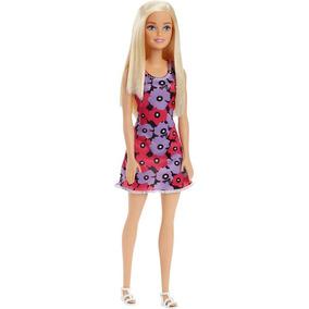 Boneca Barbie Figura Basica Fashion And Beauty - Vestido Rox