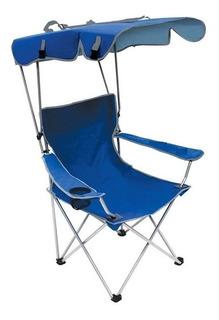 Cadeira Com Guarda Sol E Chuva Verão Praia Pescaria Camping