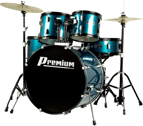 Bateria Premium Dx722 Azul Bumbo 22