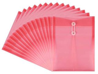 Envelope Cadena De Pvc Tieno Con Ampliable Gusset Transparen