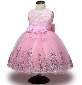 b35a9f5ad Vestido Daminha Florista Marsala - Vestidos para Meninas Rosa com o ...