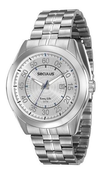 Relógio Seculus Masculino Analógico 20337g0svna2