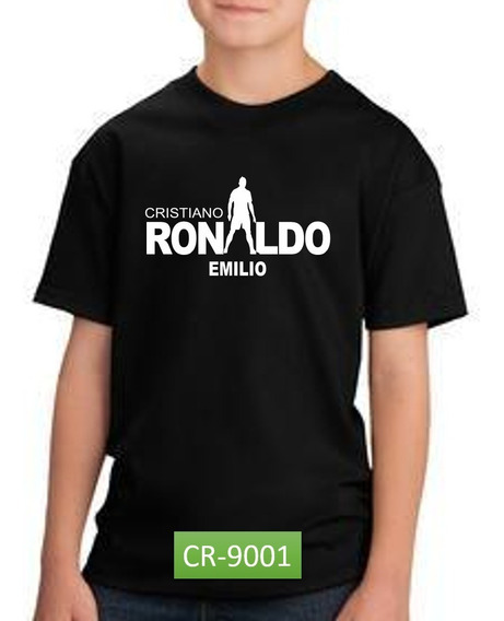 Playera Ronaldo Cr7 Real Madrid Regalo Día Del Niño