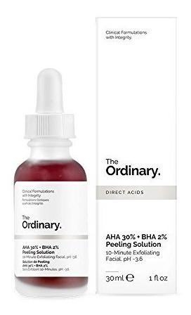 The Ordinary - Aha 30% + Bha 2% Solution De Peeling - 30ml
