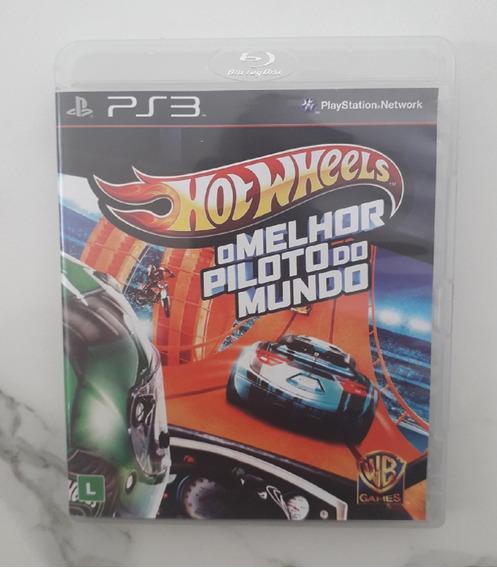 Jogo Hotwheels Ps3 - O Melhor Piloto Do Mundo Mídia Física