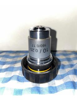 Objetivo Microscopio 10x
