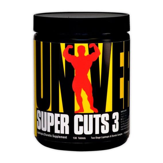 Super Cuts 3 Universal X 130 Tabletas - Quemador De Grasa