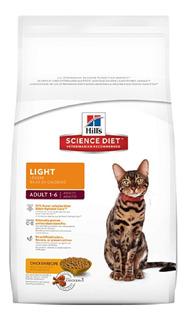 Alimento Para Gato -hills Felino Adulto Light