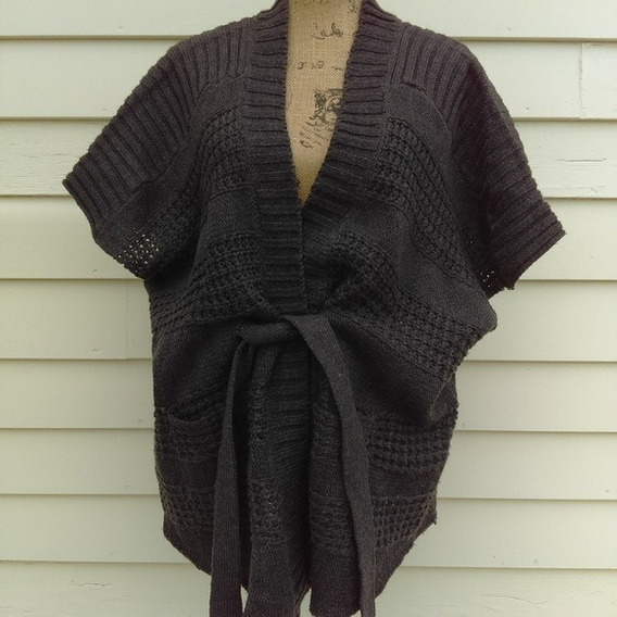 Nine West Cardigan Poncho Kimono G Grande