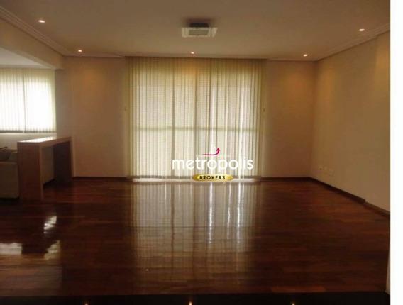 Apartamento Com 3 Dormitórios À Venda, 122 M² Por R$ 700.000,00 - Fundação - São Caetano Do Sul/sp - Ap0022