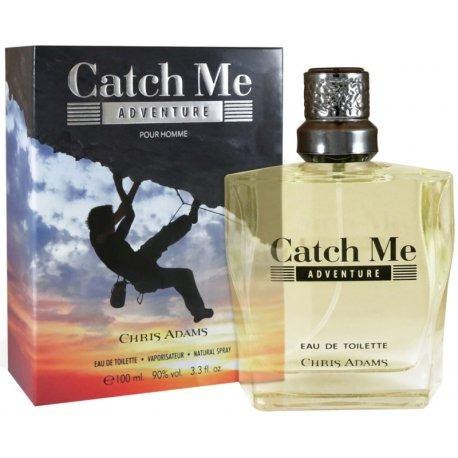 Perfume Chris Adams Catch Me Adventure Edt M 100ml
