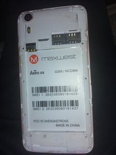 Android Maxwest Astro 5s
