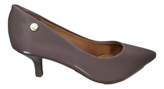 Sapato Feminino Scarpin Vizzano Glossy Salto Baixo 4,5cm.