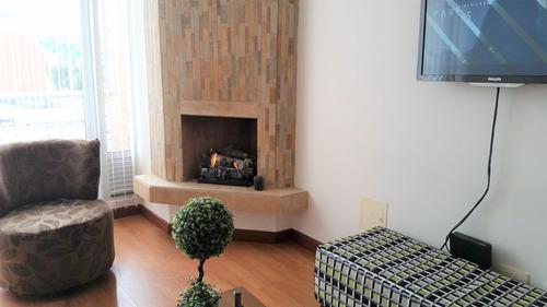 Imagen 1 de 4 de Arriendo Apartamento Amoblado Sta Barbara Usaquen 3165210267