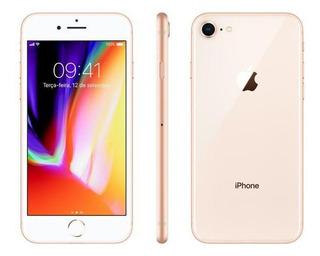 iPhone 8 Apple 64gb Dourado 4g Tela 4,7-retina Câm. 12mp