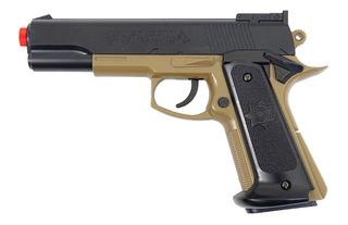 Airsoft Pistola Cybergun Colt Mk Iv Tan 6mm Pn17 180124