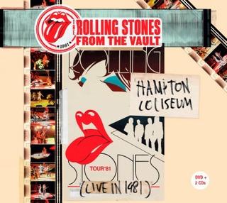 2 Cds + 1 Dvd Rolling Stones Hampton Coliseum - Frete Grátis