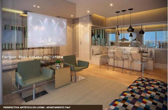 Apartamento Para Venda Em São Paulo, Mooca, 2 Dormitórios, 1 Suíte, 2 Banheiros, 2 Vagas - 1666_2-263331