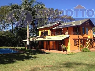 Casa Para Venda, 4 Dormitórios, Demetria - Botucatu - 502