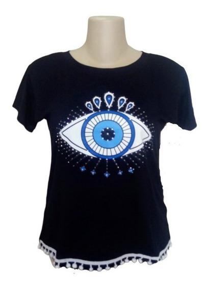 Kit 5 Camisetas Blusa T-shirt Customizada Feminina Gg Plus