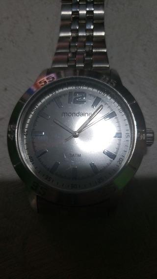 Relógio Mondaine 3atm Original Masculino Em Ótimo Estado.