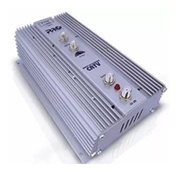 Amplificador Potência Uhf Vhf Catv 35db Pqap-6350g2
