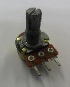 Potenciometro 100k S/ Chave 16mm (pack C/10 Unid.)