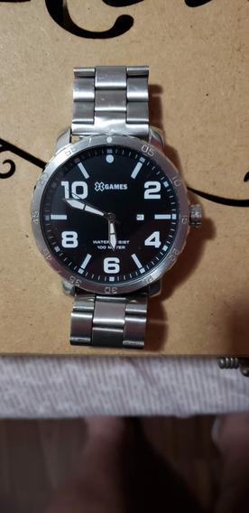 Relógio Xgames - Extra Grande - Prata