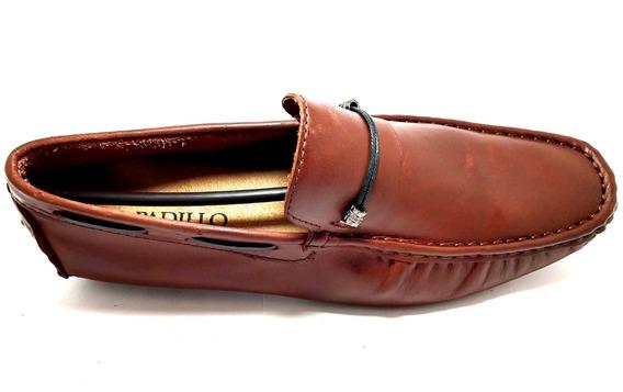 Mocassim Sapato 100% Couro Legítimo Direto Da Fábrica Rf0200