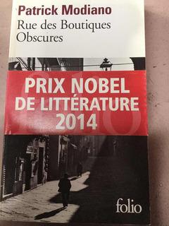Rue Des Boutiques Obscures - Patrick Modiano