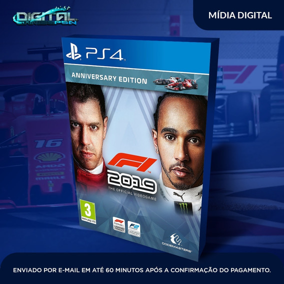 Formula 1 2019 F1 2019 Ps4 Psn Jogo Digital Envio Imediato