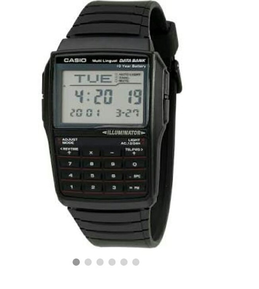 Relógios Masculinos Casio Calculadoras Original