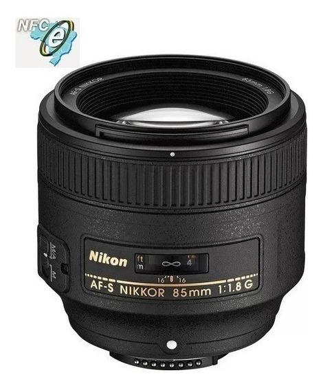 Lente Nikon Af-s 85mm F/1.8g - Nova Garantia 12 Meses