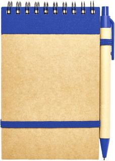 Anotador Cuaderno Libreta Chico Ecológico Con Boligrafo