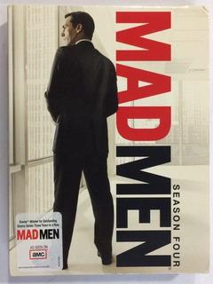Mad Men 4ta Temporada Dvd Zona 1 Pack De Lux Usa Impecable