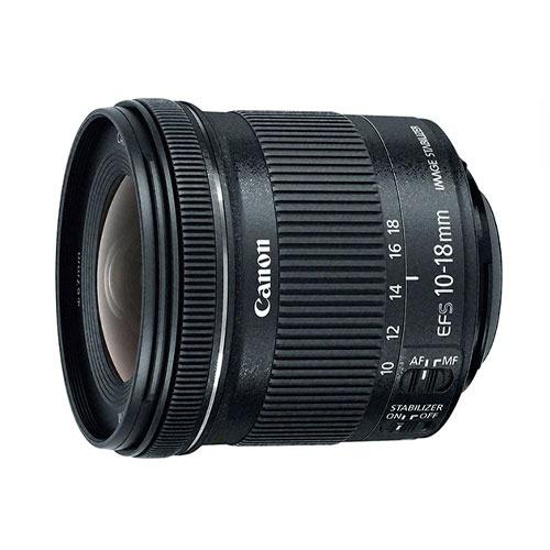 Lente Canon Ef-s 10-18mm Stm Is F4.5-5.6 Gran Angular Nuevo
