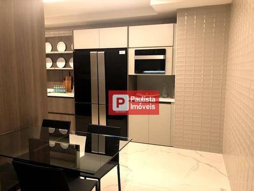 Apartamento Com 3 Dormitórios À Venda, 227 M² Por R$ 2.928.500 - Chácara Santo Antônio (zona Sul) - São Paulo/sp - Ap28435