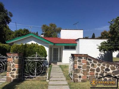 Casa En Venta En Lomas De Cocoyoc Olc-0812