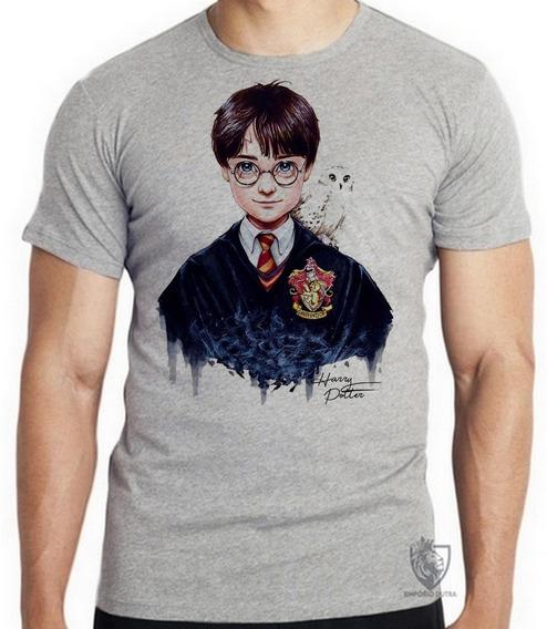 Camiseta Blusa Infantil Harry Potter Bruxo Magico Jovem