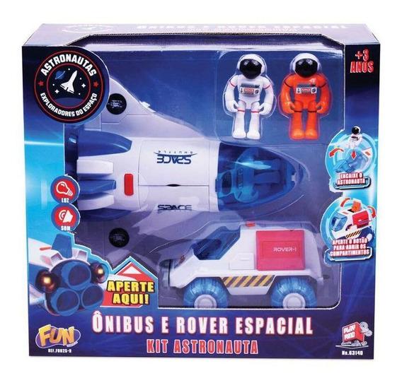 Kit Astronautas - Onibus E Rover Espacial F259 Fun Divirt